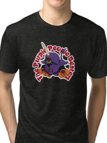 """BRDL """"The Purple People Beaters"""" - Clothing, Tablet/Phone Cases, Pillows & MORE Tri-blend T-Shirt"""