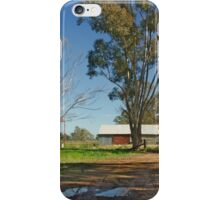 Tired shed iPhone Case/Skin