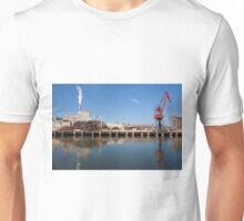 Industry in the river of Nervion, Bilbao Unisex T-Shirt