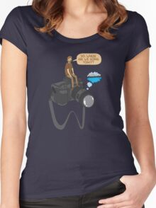 The photographer Women's Fitted Scoop T-Shirt