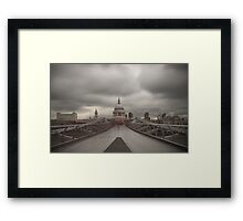 Ghosts - St Paul's Cathedral Framed Print