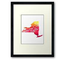 University at Buffalo Framed Print