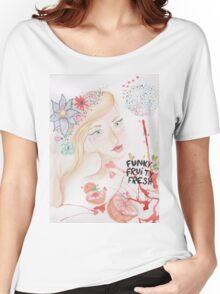 funky fruity fresh Women's Relaxed Fit T-Shirt