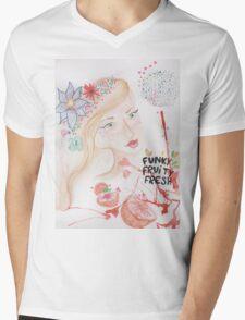 funky fruity fresh Mens V-Neck T-Shirt