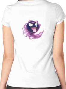 Ghost. Women's Fitted Scoop T-Shirt