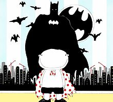 I AM Batman by garryfloyd