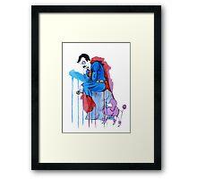 Super Thinker Framed Print