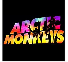 Arctic Monkeys Tropical Sunset by ALLCAPS