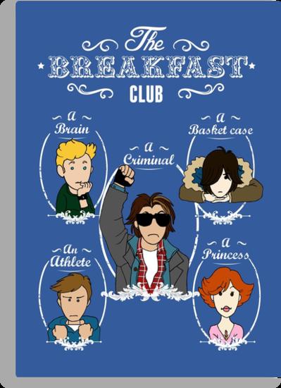 The Breakfast Club by Acidbetta