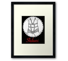 Shibari Girl Framed Print