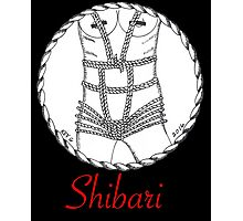 Shibari Girl Photographic Print