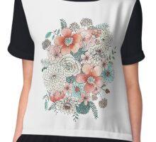 Floral Bouquet Chiffon Top