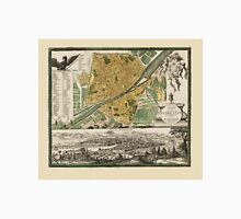 Map Of Florence 1731 Unisex T-Shirt
