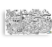 Ode to Bangkok Canvas Print