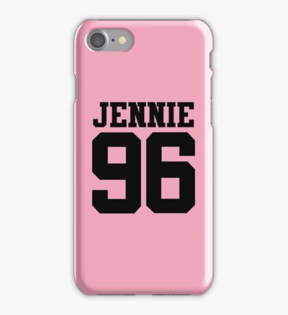 BLACKPINK Jennie 96 (Black) iPhone Case/Skin