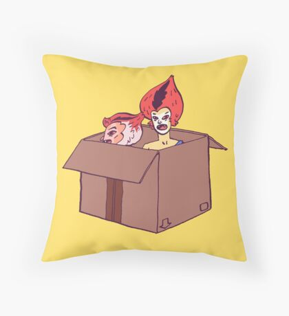 Wilykit & Wilykat Throw Pillow