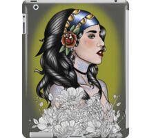 Semi Traditional. iPad Case/Skin