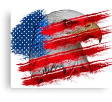 American graffiti - no background Canvas Print