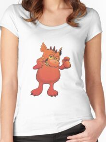 cool monster Women's Fitted Scoop T-Shirt