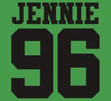 BLACKPINK Jennie 96 (Black) Kids Tee