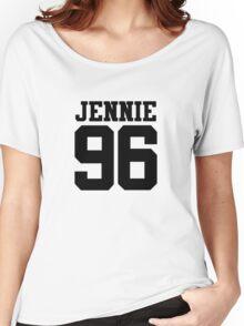 BLACKPINK Jennie 96 (Black) Women's Relaxed Fit T-Shirt