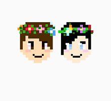 Dan And Phil 8-Bit Flower Children Unisex T-Shirt