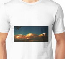 Fire in the clouds, Ovens Valley Unisex T-Shirt