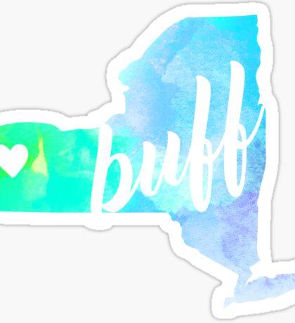 Buff Sticker