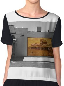 The mural Chiffon Top