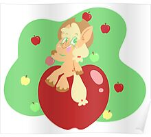 Apple on Apples Poster