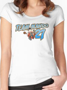 Team Mando! Women's Fitted Scoop T-Shirt