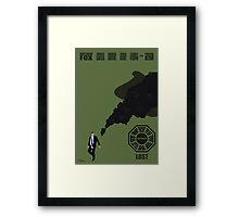 Lost Poster Framed Print