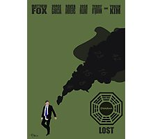 Lost Poster Photographic Print