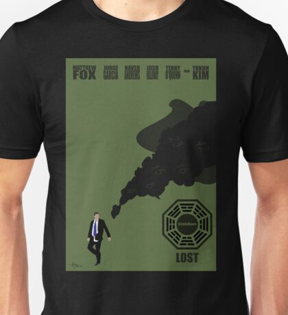 Lost Poster Unisex T-Shirt