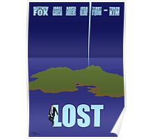 LOST minimialist poster Poster