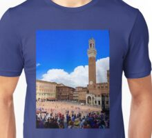 Piazza of Siena Unisex T-Shirt