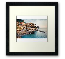 Fated Adventurer Framed Print
