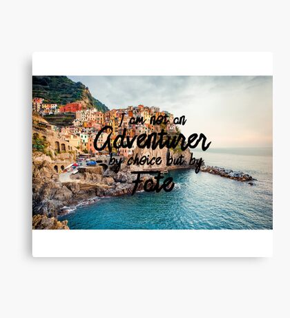 Fated Adventurer Canvas Print
