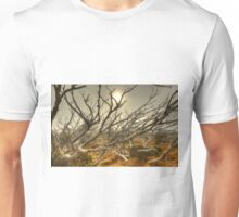 Burnt snowgum forest, The Bluff Unisex T-Shirt