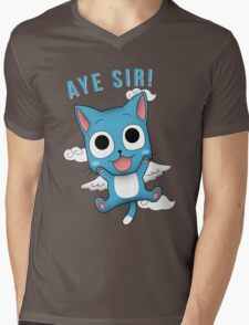 Aye Sir! Mens V-Neck T-Shirt
