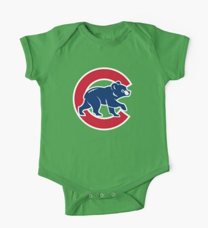 Chicago cubs One Piece - Short Sleeve