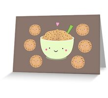 Cookie dough  bowl Greeting Card
