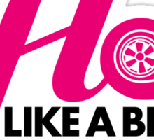 Hot like a blown turbo (5) Sticker