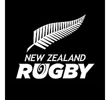 ALL BLACKS RUGBY Photographic Print