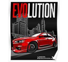 LANCER EVOLUTION-X Poster
