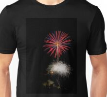 4th of July fireworks. Photographed in Studio City Los Angeles, California  Unisex T-Shirt