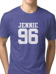 BLACKPINK Jennie 96 (White) Tri-blend T-Shirt