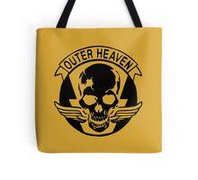 Outer Haven Logo Black Tote Bag