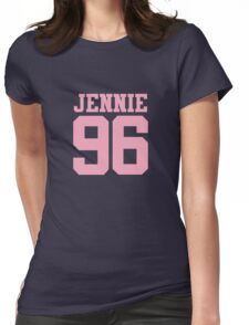 BLACKPINK Jennie 96 (Pink) Womens Fitted T-Shirt