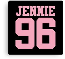 BLACKPINK Jennie 96 (Pink) Canvas Print